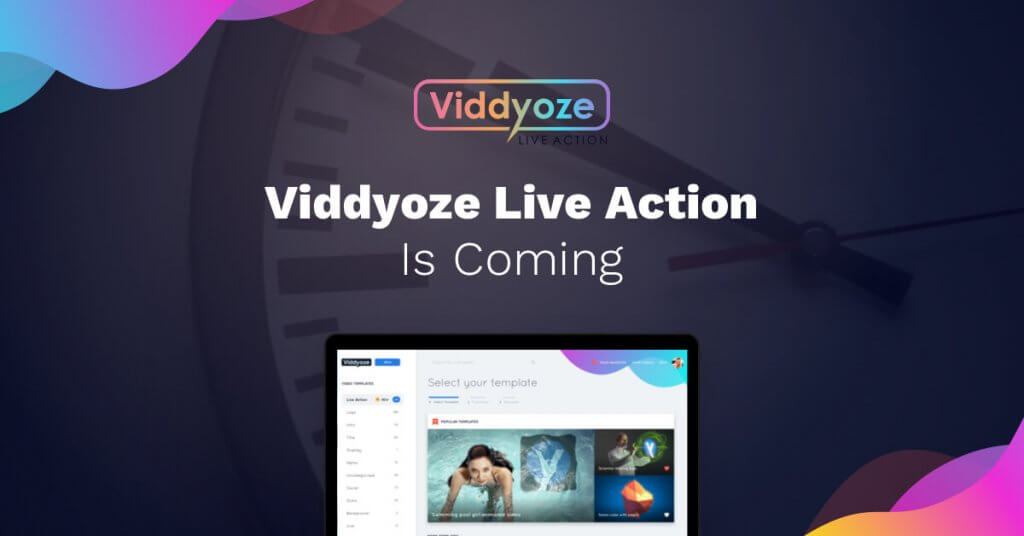 Viddyoze Live Action - Video Branding Animation Software / Maker