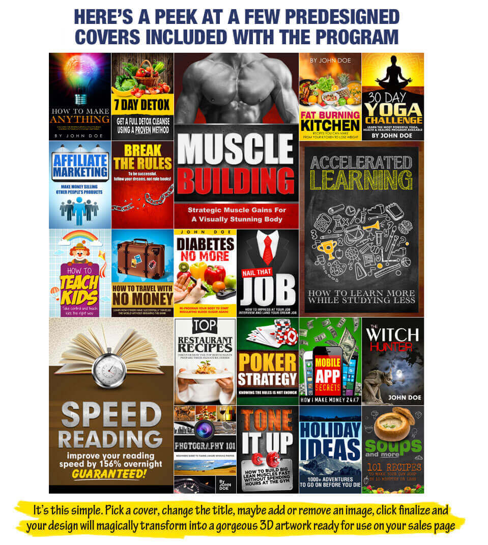 Best Book Cover Creator : Best book cover maker ebook design software myecovermaker