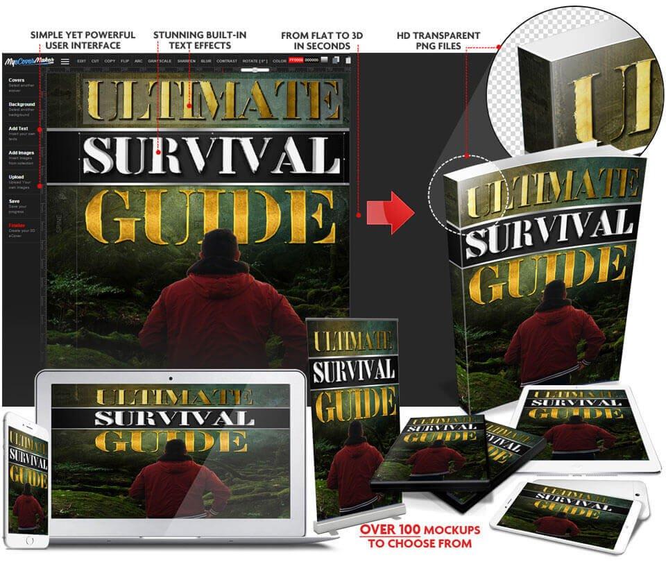 Book Cover Maker & Design Software