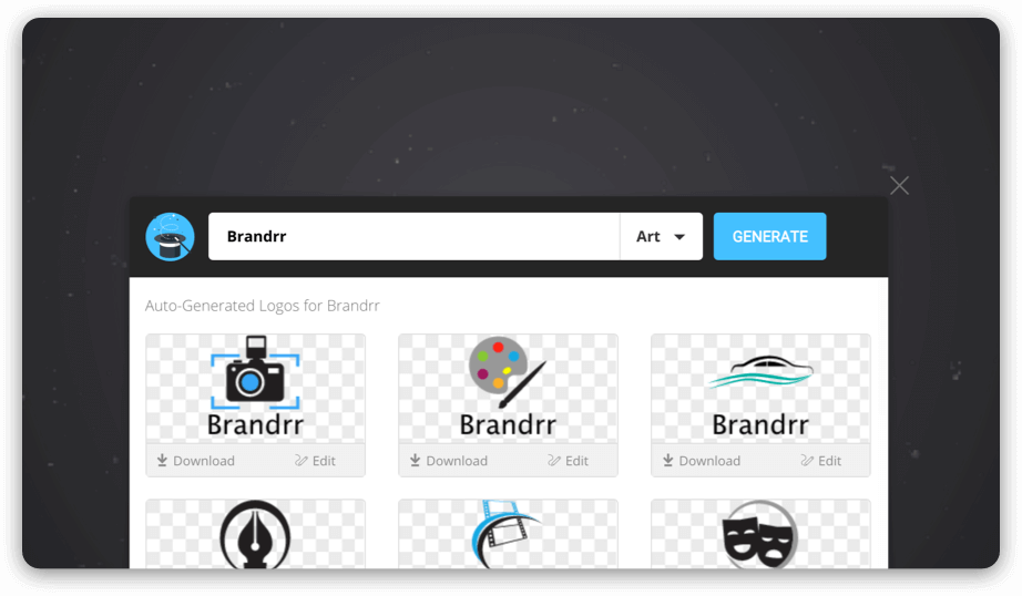 Brandrr Logo Maker - How to Create a Logo