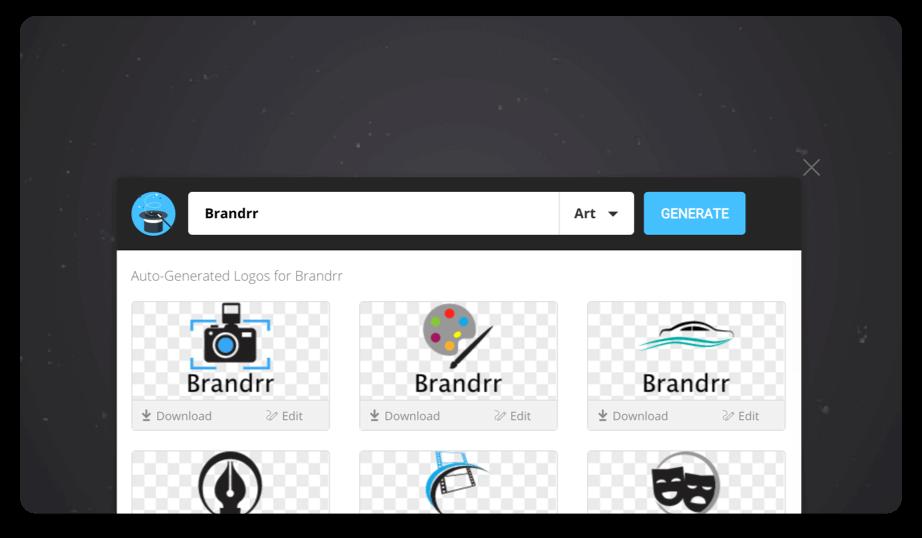 Brandrr Logo Maker - How to Create a Logo