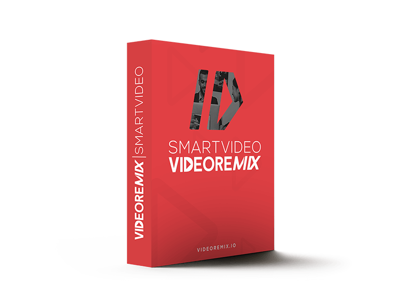 VideoRemix SmartVideo Personalized Video Software