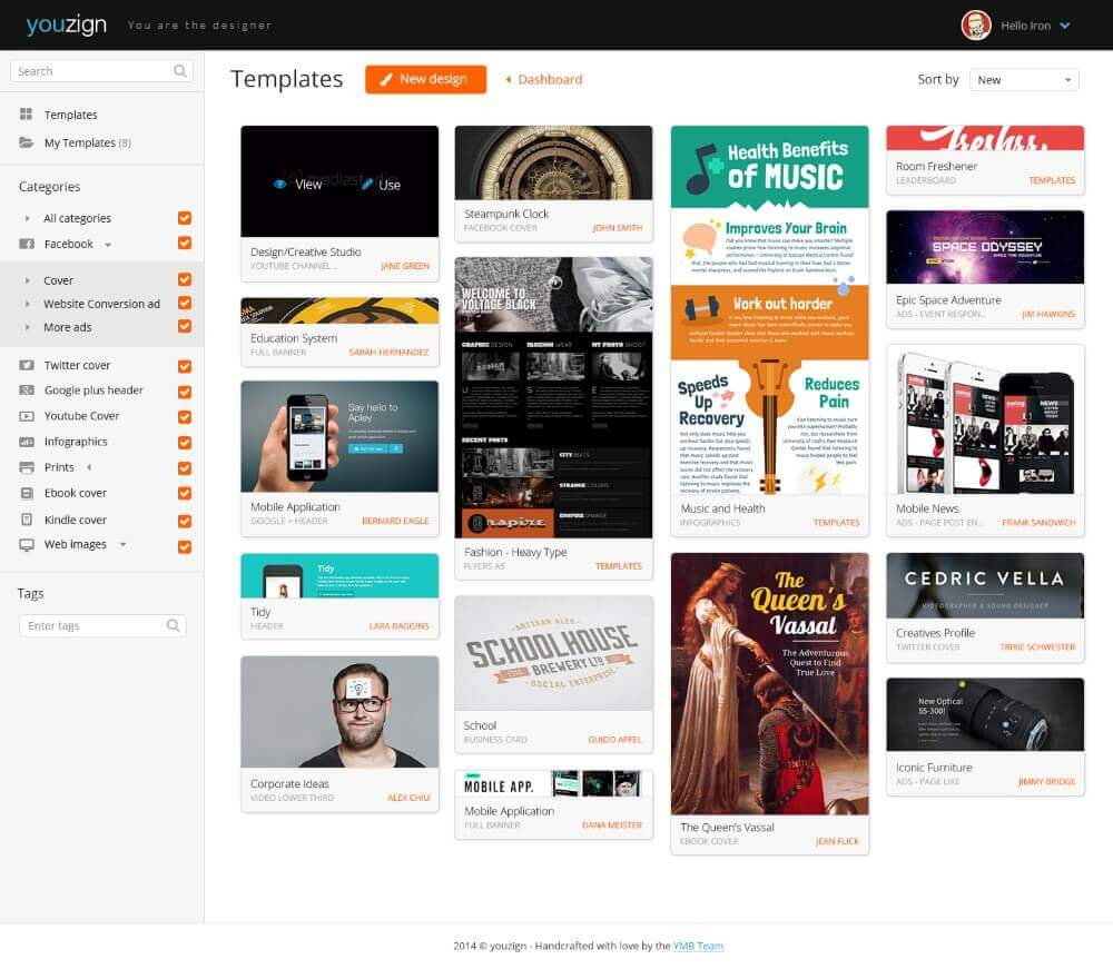 YouZign - Social Media Design Templates