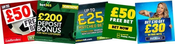 Free Bets - Best Matched Betting Sites