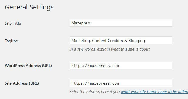 Change WordPress to https