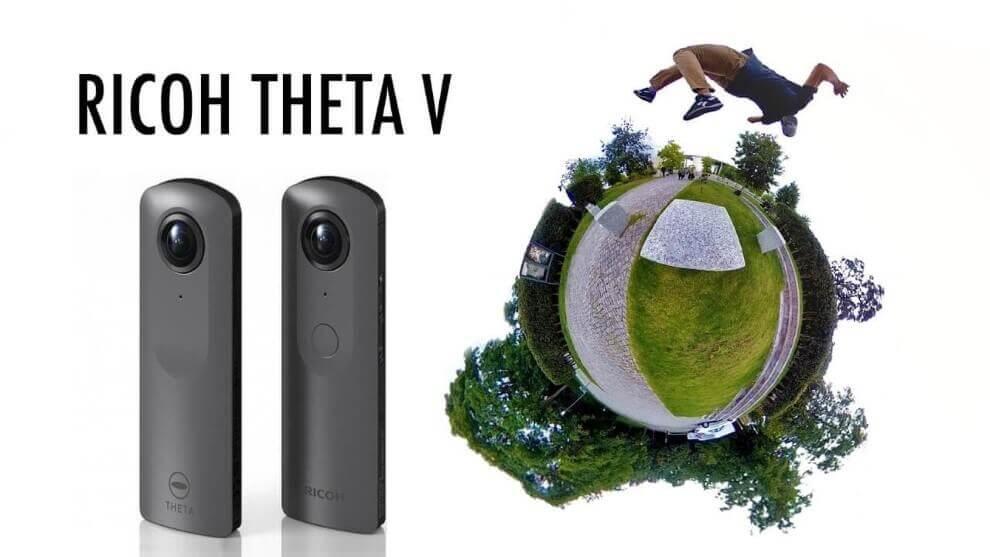 Ricoh Theta V - Best 360 Degree Camera