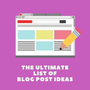 Best Blog Post Ideas