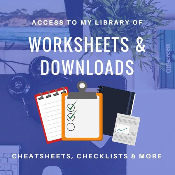 Worksheets, Checklists & Swipe Files for Marketers & Bloggers