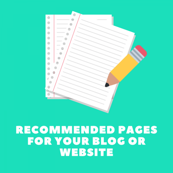 Recommended Pages for your Blog