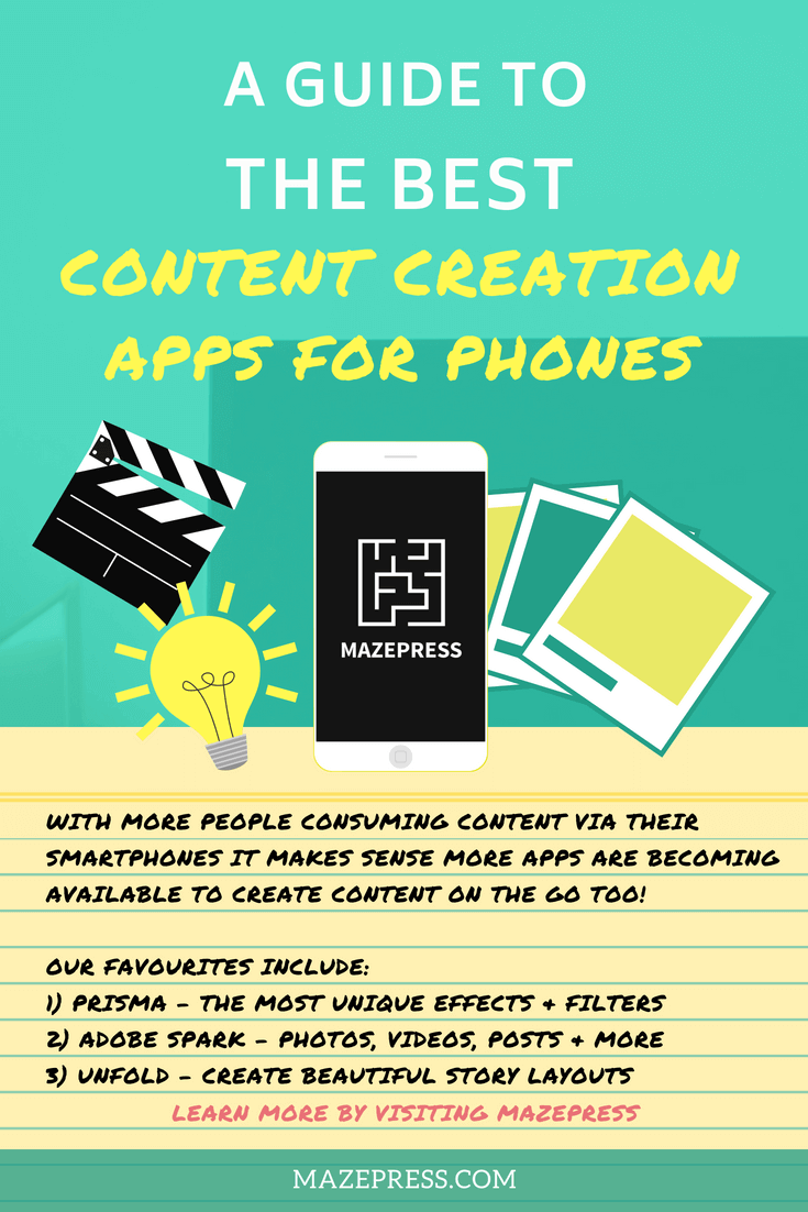 The Best Content Creation Apps for Smartphones