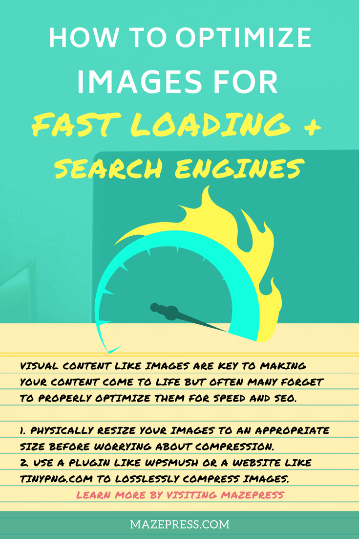 Optimize your WordPress images for speed and fast loading