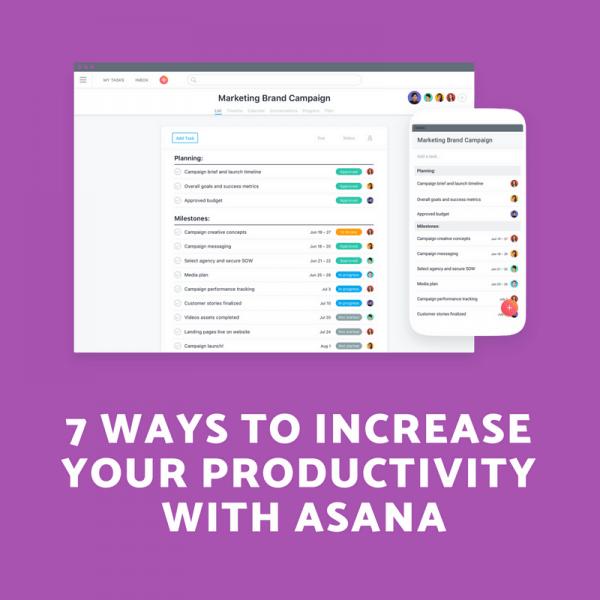 Work Productivity Asana
