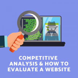 Performing competitive analysis and website research