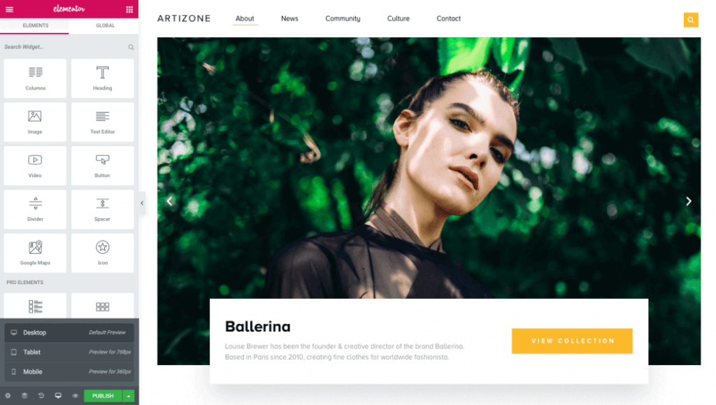 Elementor Theme for WordPress