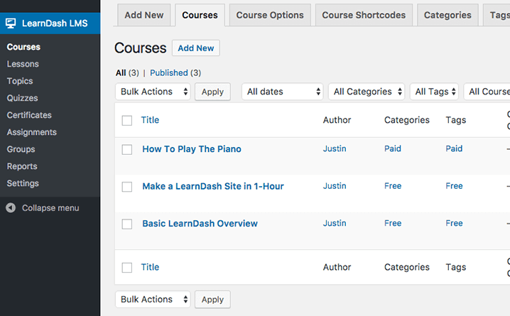 Best Learning Management System for WordPress - Course Plugin LearnDash