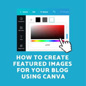 Featured Images With Canva