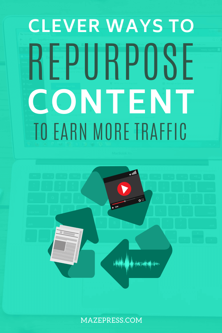 Content Repurposing Ideas for Blogs & Websites