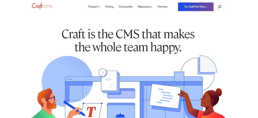 CraftCMS Homepage