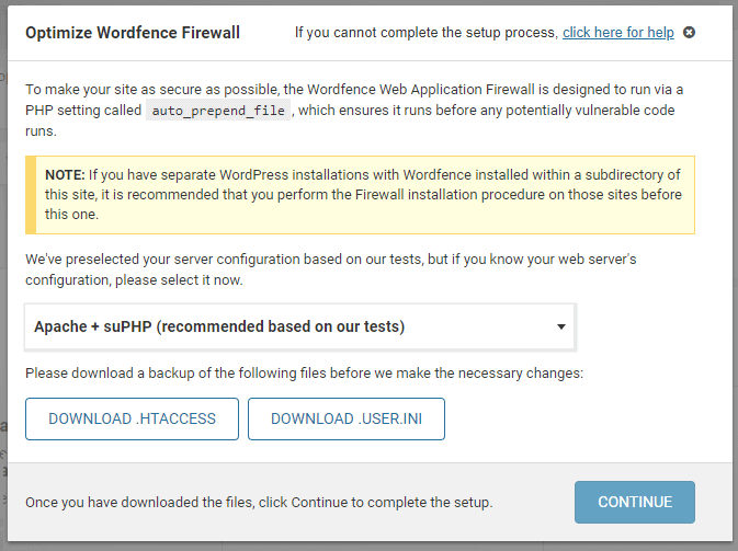 Wordfence WAF - Web Application Firewall
