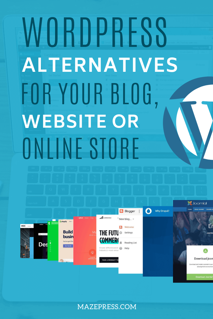 What are the alternatives to WordPress?