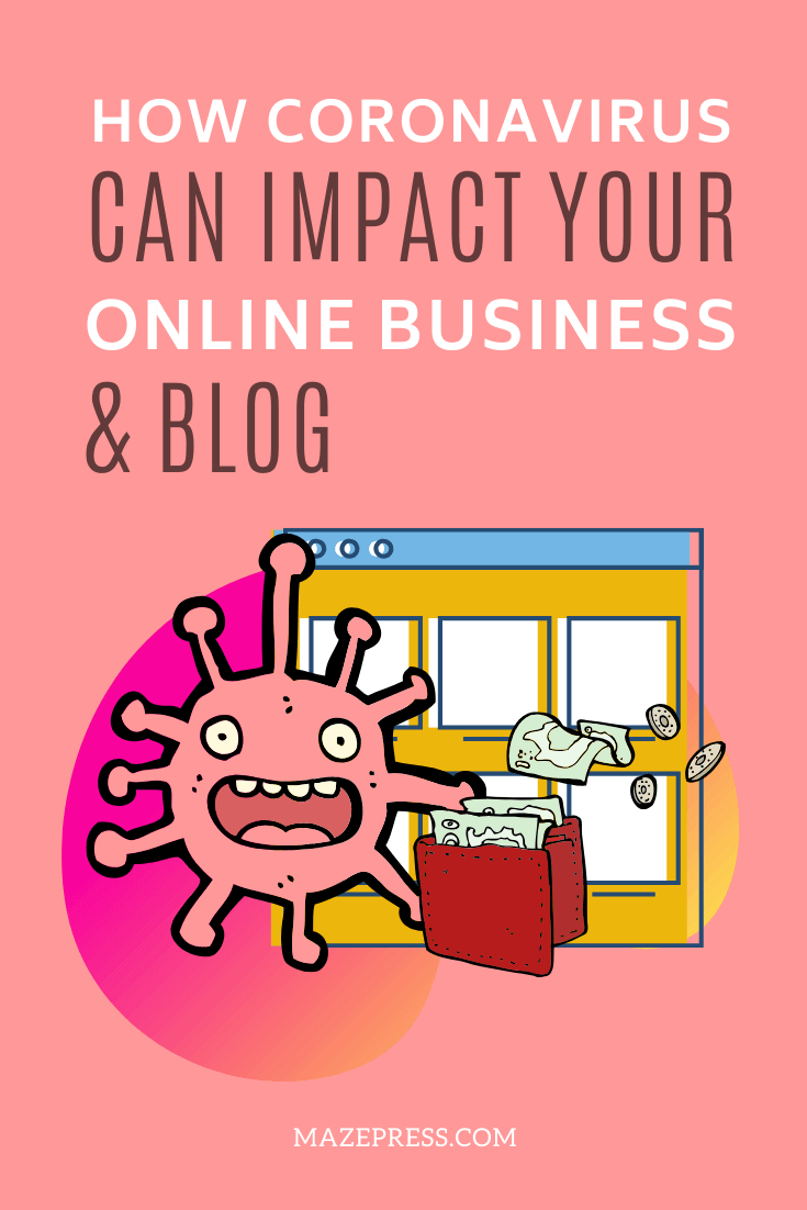How viruses can impact your online business or blog Pin