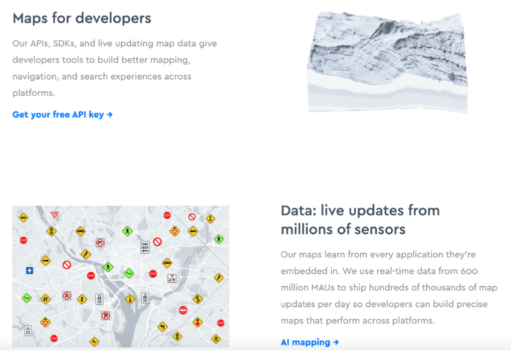 Mapbox - advanced interactive map features